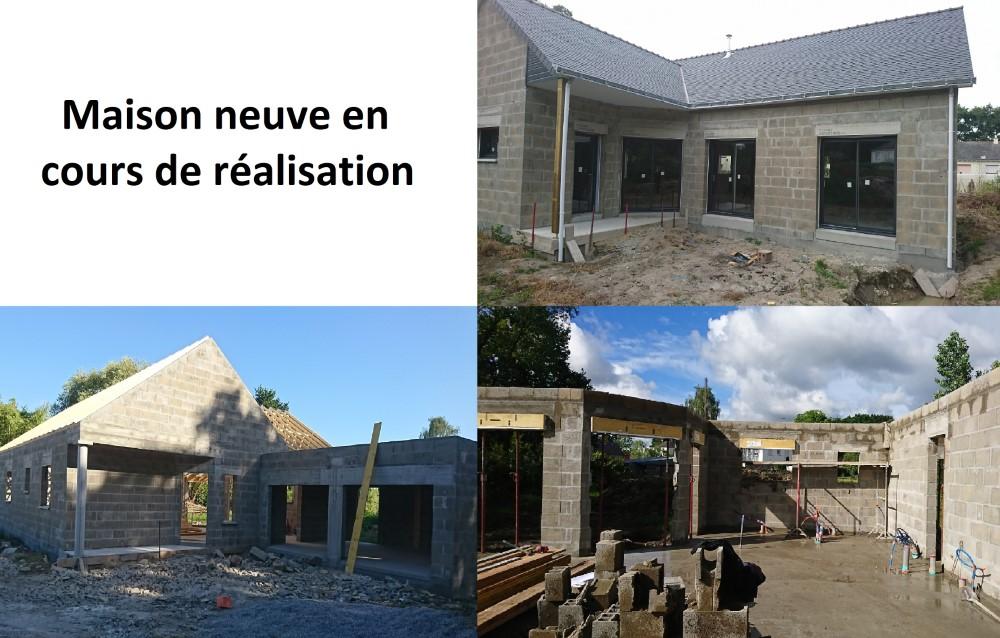 BATIMENT VALLEE MACON LA BAULE Laplante Maison Neuve En Cours De Réalisation 144