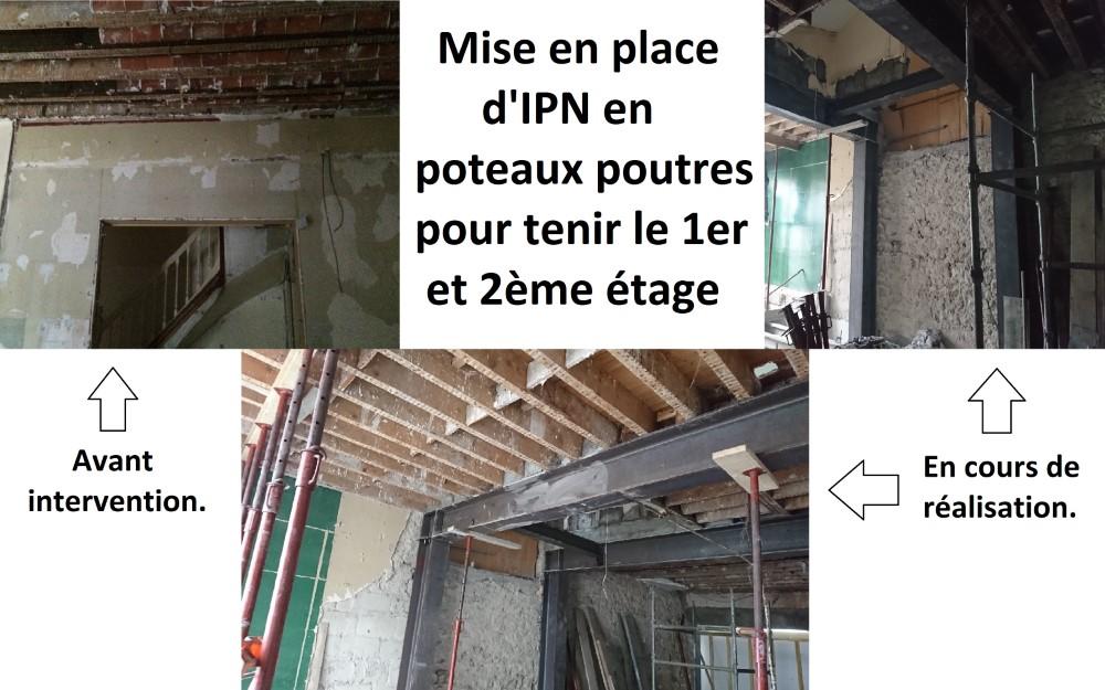 BATIMENT VALLEE MACON LA BAULE SCI Clago Poteaux Poutres Métalliques 153